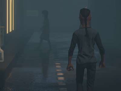 More Progress on DeRezzed Noir! cg film noir unity animation