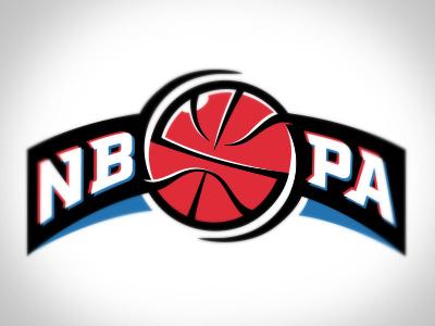 NBPA Logo nba basketball sports athletics game ball play