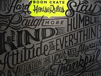 Boom Crate House Rules