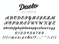 Daelo Typeface