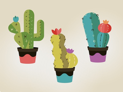 Little Cactus illustration vector illustrator cacti cactus