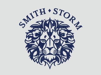 Smith Storm Lion golf sports logo animal lion illustration vector