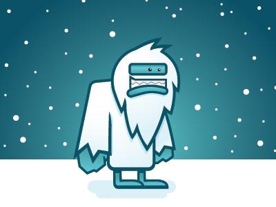 Absnow illustration cartoon winter