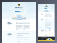 MailMason Landing Page