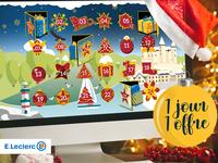 Christmas web calendar