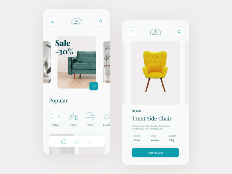 Furniture Store Mobile App