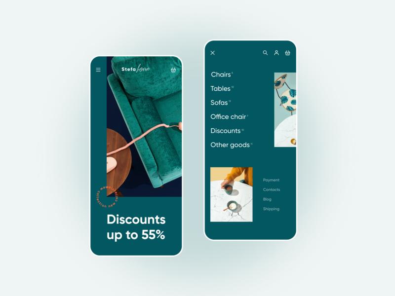 1/100 daily design daily 100 challenge dailyui e-shop e-commerce web shop online store online shop design app ux ui