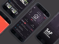 Home Security App designer ux ui security ios android app mobile