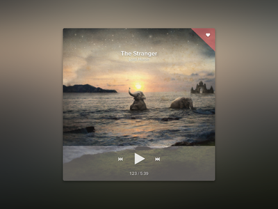 Music Player Ui ui music clean and simple