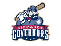 Bismarck Governors Mascot Logo