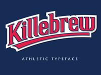 Killebrew Typeface
