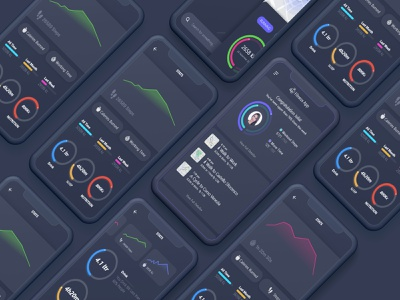 Workout App Ui Design flat vector design illustration app branding minimal animation ux ui