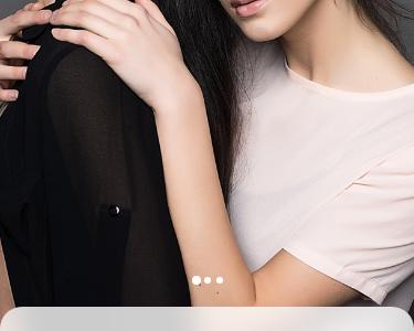 Luxury e-Commerce Shopping App UI Design web concept girl mackup product concept clean
