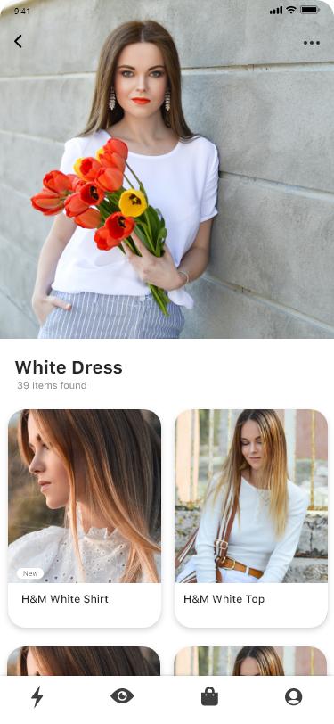 Luxury e commerce shopping app ui design 281496 296673