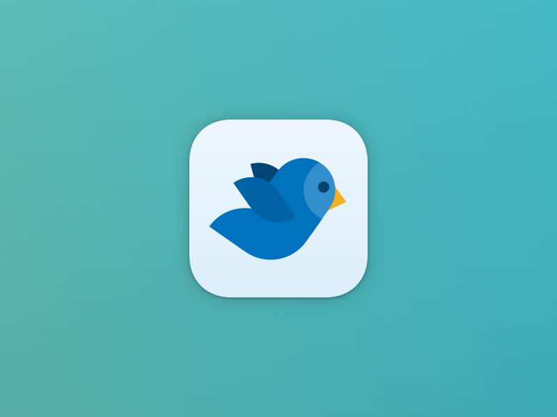 Dribbble bluebird