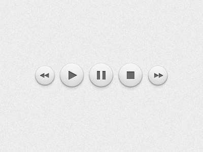 Play Buttons by Ben Regali on Dribbble