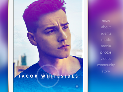 Jacob Whitesides (Mobile) merittthomas meritt mobile site ux ui whitesides jacob