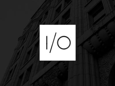 I/O merittthomas meritt geometry logo branding design logotype identity io