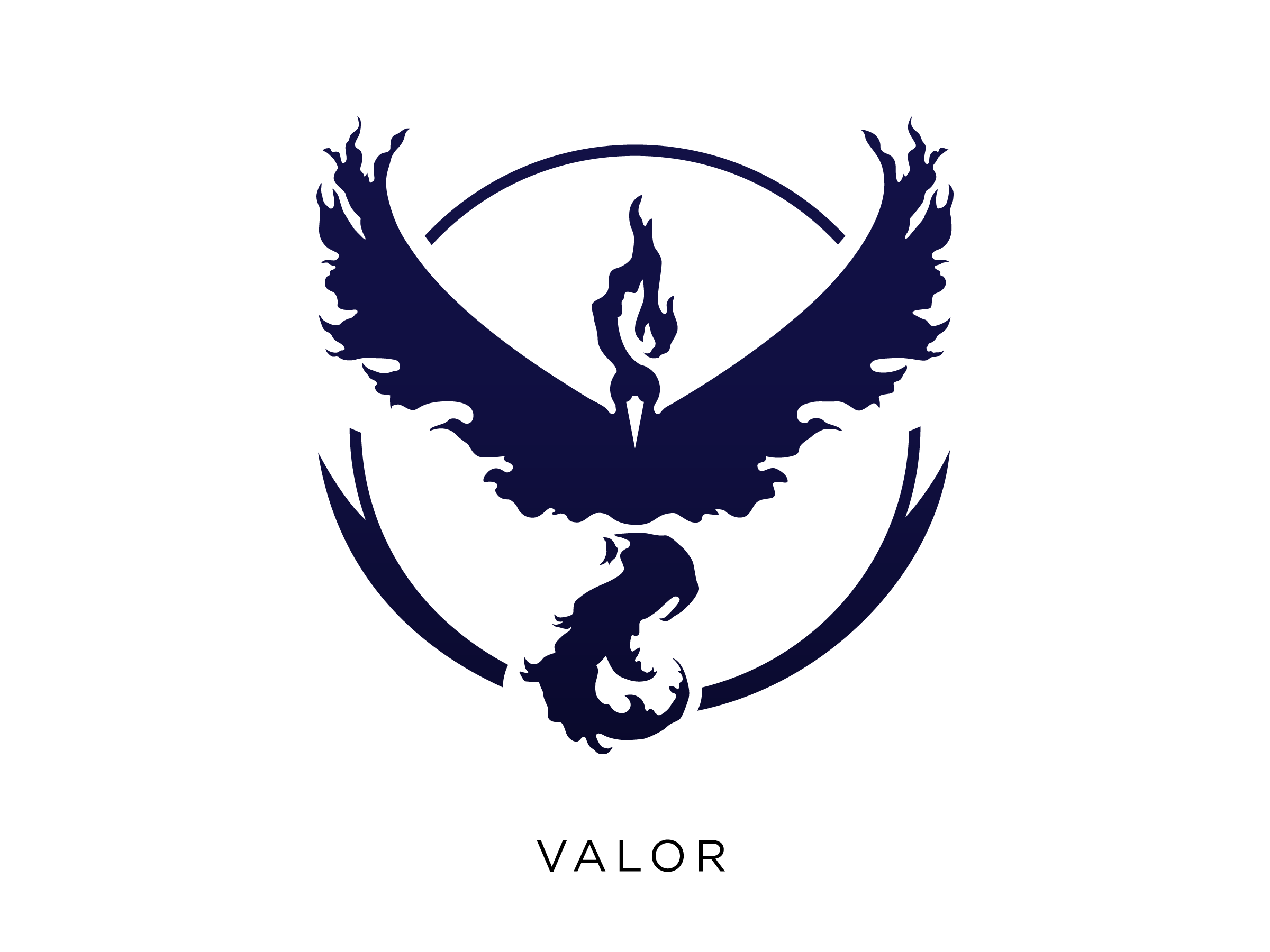 Pokemongo team logos valor