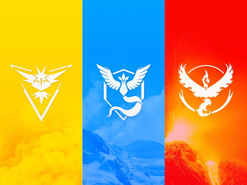 Pokémon GO Team Logos [Vector Download] pokemon go pokemon teams team valor mystic instinct vector free freebie download