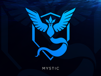 Mystic: Pokemon GO Team Logo [Vector Download]