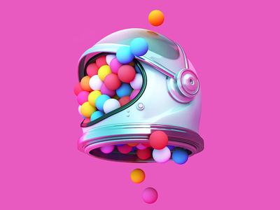 Ueno Rebranding : Color Proposal ueno spaceballs rebrand merittthomas meritt logo identity color c4d 3d