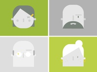Portraits (from Natural Health Remedies Infographic)