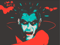 Vampire W.I.P. (for Molson Canadian)