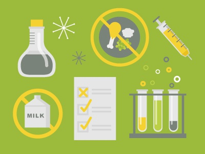 More Health Icons! wip infographics icons icon health food testing vaccine science