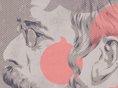 WIP Illustration for The New Republic illustration wip