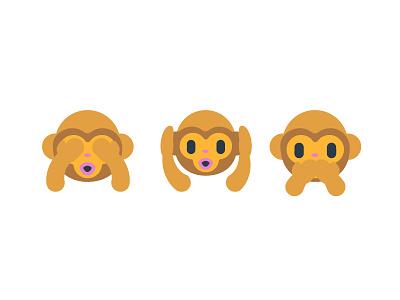 Emoji Monkeys