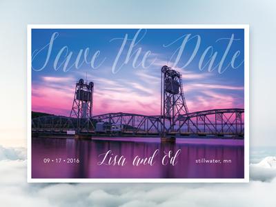 INVITATION | wedding save the date