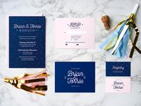 Milwaukee Wedding Invitation Suite