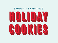 EDITORIAL | holiday cookies