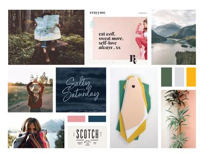 MOODBOARD | lifestyle branding