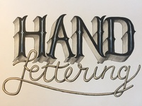 Practicing... Hand Lettering