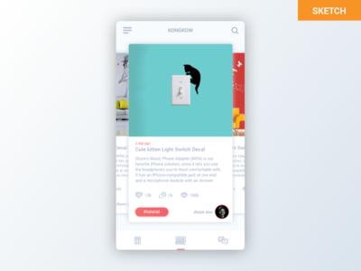 Freebies - Redesign concept utakatikotak.com