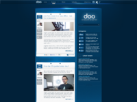 Doo blog layout