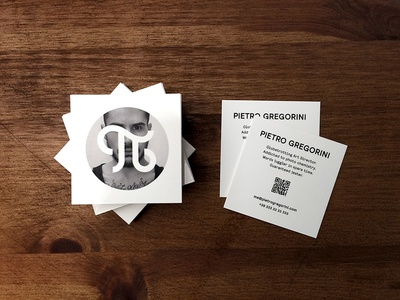 Personal Business Cards moocards moo code qr print uv square cards card business pietro gregorini