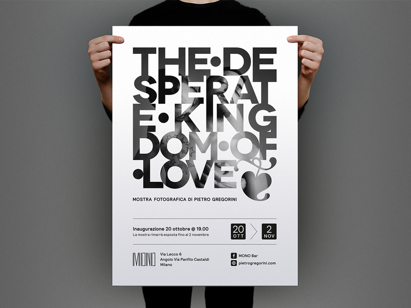 The Desperate Kingdom of Love composition design love manifesto poster art art typography poster graphic photography exhibition