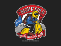 T-shirt Design for Move Solo