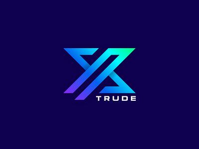 X logo vector ui illustration monogram logo branding letter simple elegant design logo