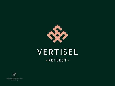 Luxury design luxury ui vector illustration monogram logo branding letter simple elegant design logo