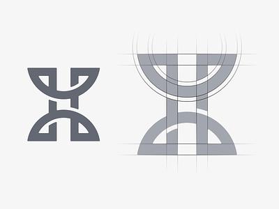 Monogram Logo Design 3d motion graphics graphic design vector ui illustration monogram logo branding letter simple elegant design logo