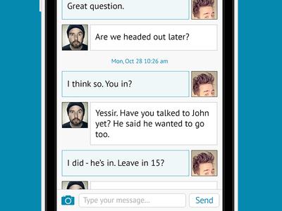 Chat View, Troisième Partie
