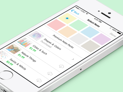 IAP Screen design ios interface ui iap in app purchase premium