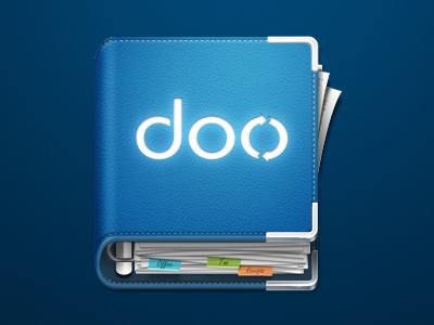 doo App Icon icon app mac binder paper photoshop doo.net