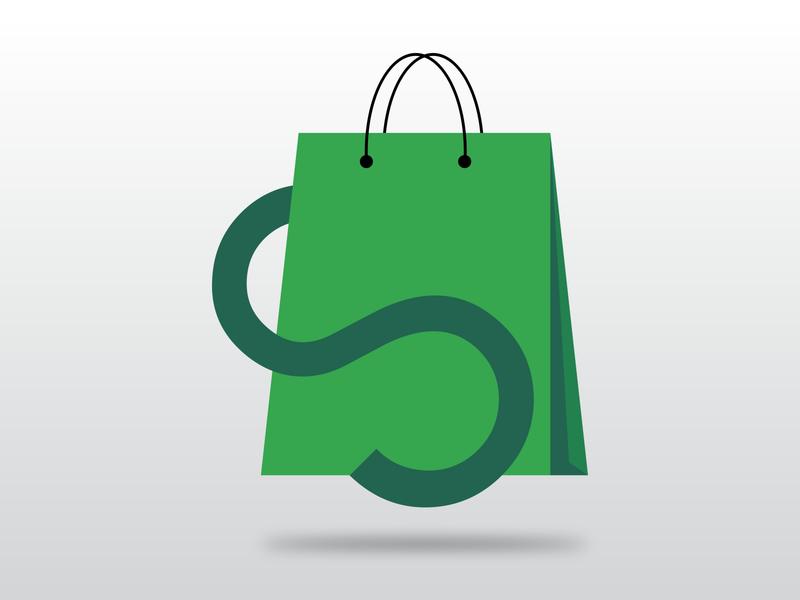 eCommerce Logo icon logo branding illustration
