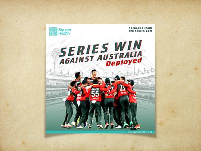 Cricket Post Design cricket post banner design post design social media post design graphic design