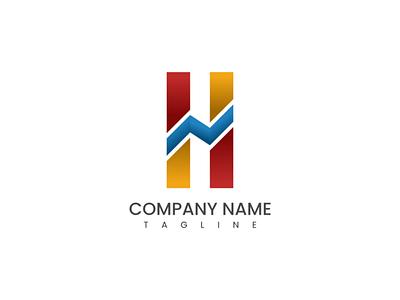 H Letter Logo Idea typography vectorart design icon vector graphic design branding logo